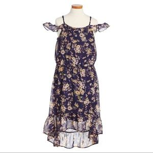 Girls Love Fire Large off shoulder floral dress